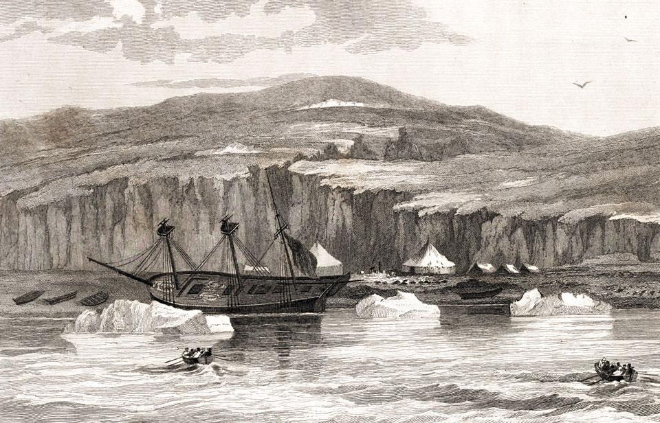 Resultado de imagen de william edward parry dessis of arctic expedition